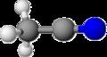 Acetonitrile modello.png