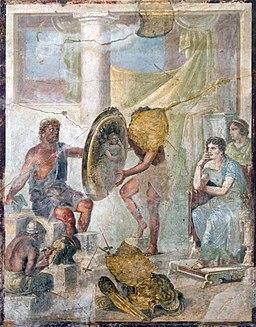 Achilles weapons MNA Naples