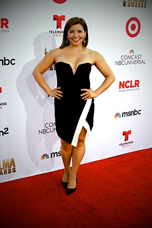 Justina Machado - Machado at the 2014 Alma Awards
