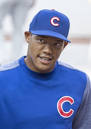 Addison Russell - Russell with the Chicago Cubs in July 2017