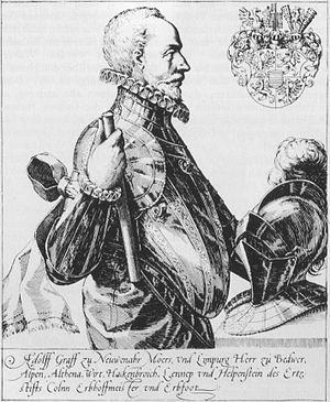 Adolf van Nieuwenaar - Adolf von Neuenahr, 1545-1589.