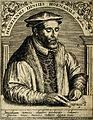 Adrianus Junius (Horna). Line engraving by T. de Bry, 1645. Wellcome V0003151.jpg