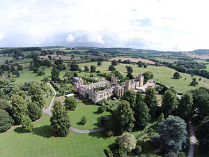 Sudeley Castle - Aerial photo of Sudeley Castle
