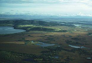Aerial view of Big Delta region