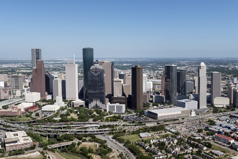 File:Aerial views of the Houston, Texas, skyline in 2014 LCCN2014632225.tif