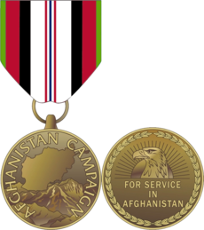 Image illustrative de l'article Afghanistan Campaign Medal