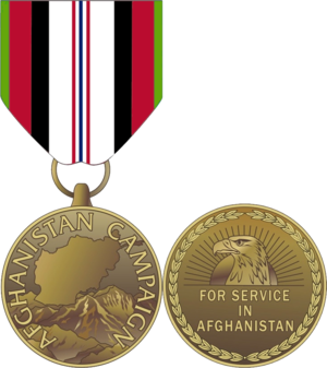 Afghanistan Campaign Medal - Afghanistan Campaign Medal