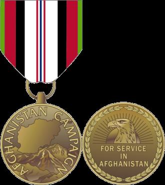 Afghanistan Campaign Medal - Afghanistan Campaign Medal