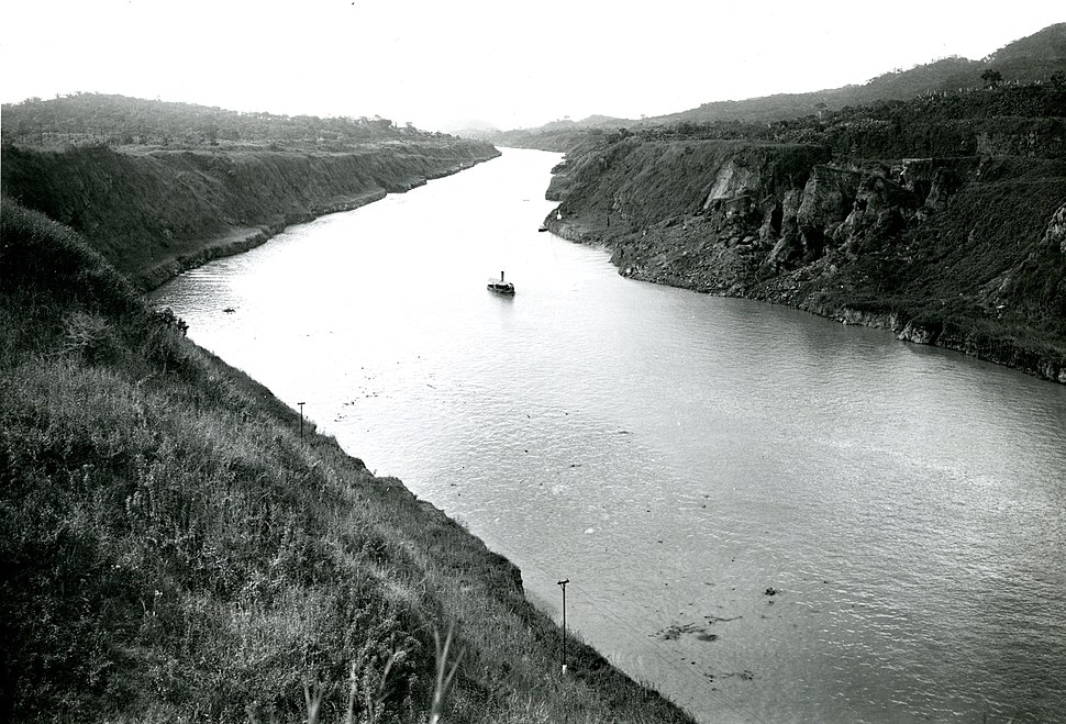 After Photograph of the Panama Canal