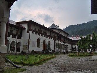 Mihail Sadoveanu - Agapia Monastery, one of Sadoveanu's favorite retreats