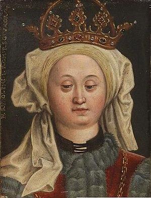 Isabella of Burgundy, Queen of Germany - Image: Agnes (Elisabeth) of Burgundy