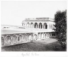 Agra Fort, The Palace LACMA M.90.24.32.jpg