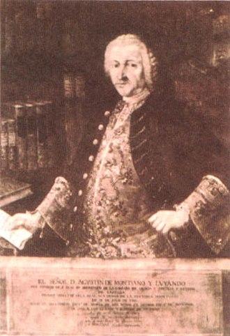 Agustín de Montiano y Luyando - Agustín de Montiano y Luyando