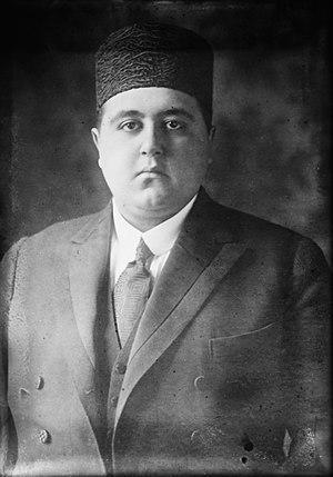Ahmad Shah Qajar - A picture of Ahmad Shah Qajar