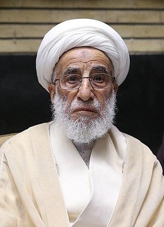 Ahmad Jannati - Image: Ahmad Jannati 2018