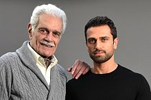Ahmed Salim and Omar Sharif.jpg