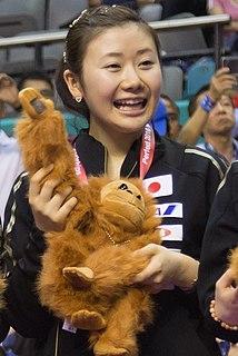 Ai Fukuhara Japanese table tennis player
