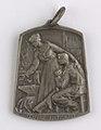 Aide et Apprentissage des Invalides de la Guerre 1914-1918 Section Brabançonne, medal by Jacques Marin (1877-1950), Belgium, 1916, Coins and Medals Department of the Royal Library of Belgium, 2Lef 104-42 (recto).jpg