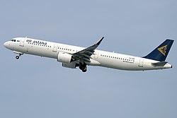 Air Astana, P4-KDE, Airbus A321-271N (46715427705).jpg