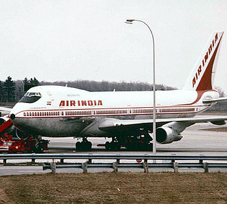 Montréal–Mirabel International Airport - Air India Boeing 747-200 at Montréal–Mirabel International Airport in 1983