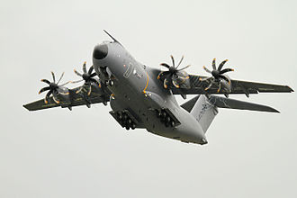 Mission: Impossible – Rogue Nation - This particular Airbus A400M Atlas, registered F-WWMZ, was used to film the action scene at RAF Wittering