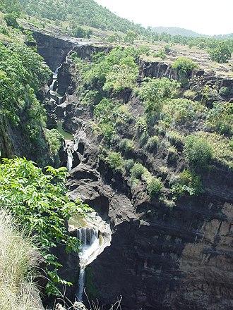 Deccan Traps - Deccan Traps at Ajanta Caves