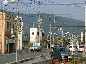 Akayu, Yamagata - Akayu main street in 2005