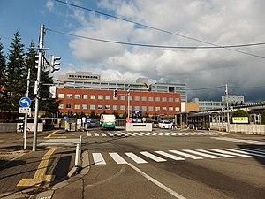 秋田大学医学部附属病院 (2012年11月)