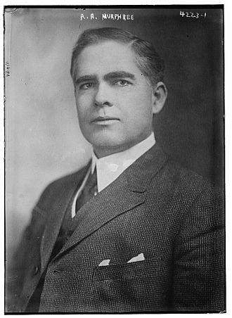 Albert A. Murphree - Murphree in 1917