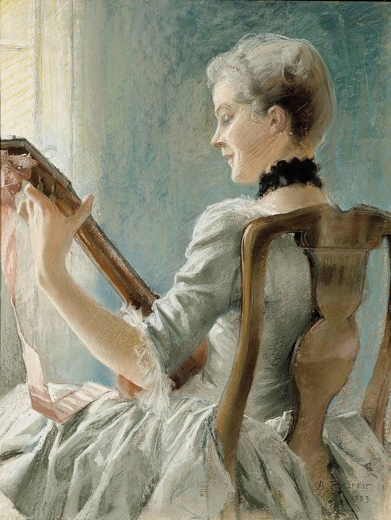 Альберт Эдельфельт - Весенняя песня Далина - AI 214 - Finnish National Gallery.jpg
