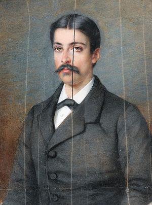 Louis Philippe Marie Alexandre Berthier, 3rd Prince of Wagram - Alexandre Berthier de Wagram (Pierre de Pommayrac, 1866)