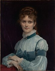 Portrait of Miss Fanny Clapp