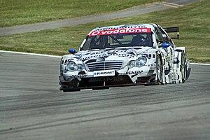 Alexandros Margaritis - Margaritis driving for Mercedes-Benz (Persson Motorsport) in the 2006 DTM season.