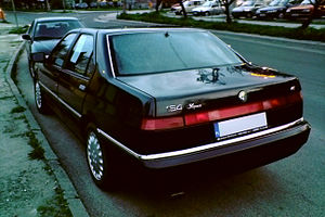 Alfa Romeo 164 - Alfa Romeo 164 (second series)