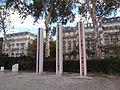 Algerian War Memorial, Quai Branly, Paris 2012.jpg