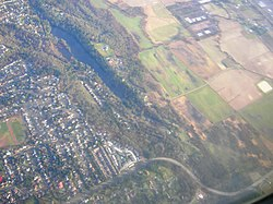 Algona, Washington from the air.jpg