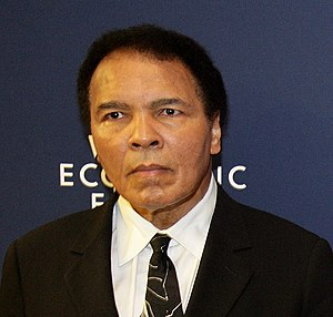 Arthur Ashe Courage Award - Image: Ali World Economic Forum 2006