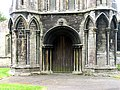 All Saints, Walsoken, Norfolk - West door - geograph.org.uk - 321040.jpg