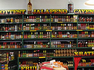 Hot sauce - There are many varieties of hot sauce