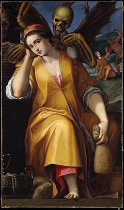 Allegory of Avarice MET DT6782