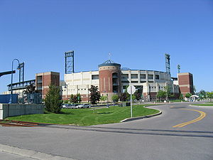 Syracuse metropolitan area - NBT Bank Stadium is home to the Syracuse Chiefs baseball team.