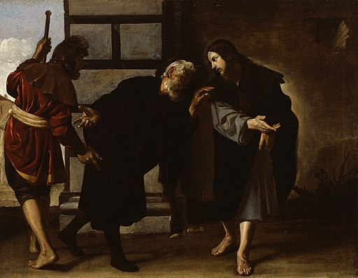 Alonso Cano - Christ and Two Followers on the Road to Emmaus - Walters 372770
