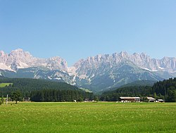 Skyline of Tirol
