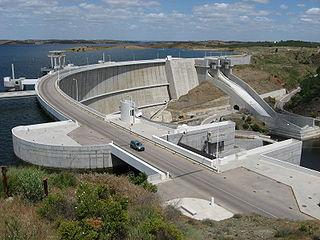 Alqueva Dam dam in Alqueva/Moura