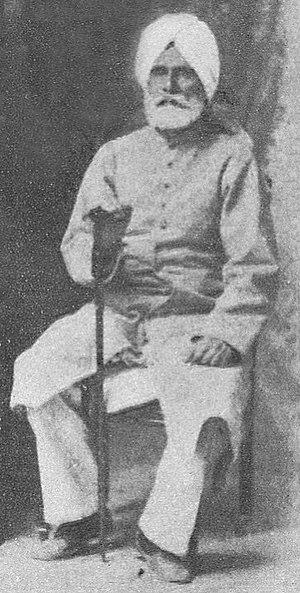 Altaf Hussain Hali - Image: Altaf Hussainhali