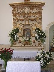 Altare principale della Cappella Madonna di Loreto
