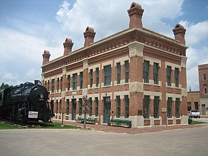 National Register of Historic Places listings in Lee County, Illinois - Image: Amboy Il Depot 6