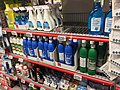 "Ammonia (""Salmiakk""), bleach (""Klorin"") and other cleaning products aisle in Coop Extra supermarket, Bergen Stormarked Shopping Mall, Norway 2017-10-25 a.jpg"