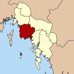 Amphoe location in Krabi Province