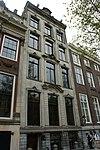 foto van Huis met zandstenen gevel